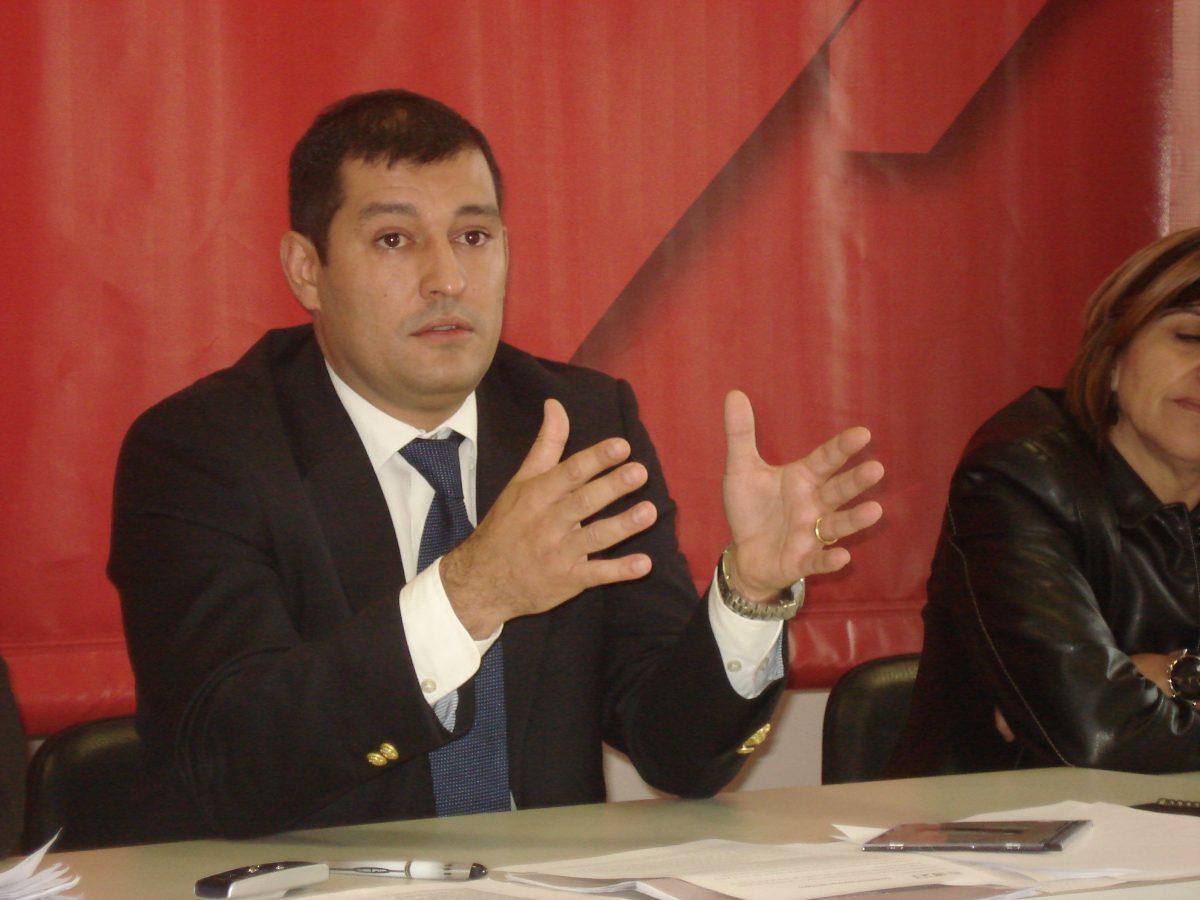 O candidato João Marques