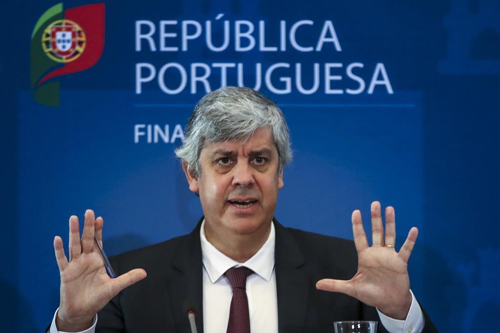 Mario Centeno anuncia medidas de apoio à economia